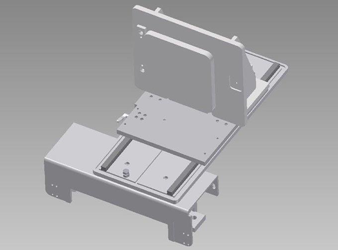 Spannvorrichtung für exaktes Abtrennen 3D gedruckter Werkstücke